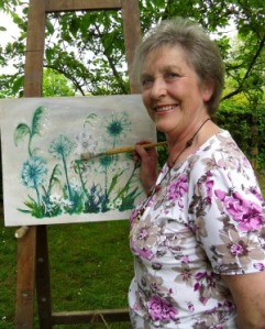 Elizabeth Moss, whose work will be at the Art Café in the Discovery Centre, Craven Arms, as part of Shropshire Hills Art Week