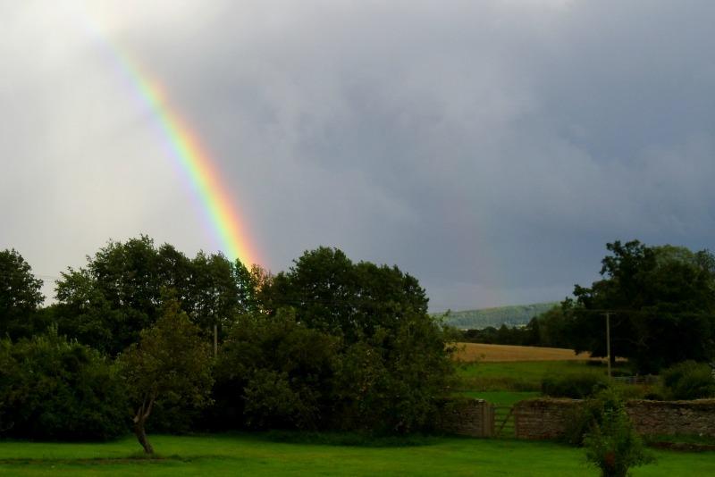 This rainbow made me think of Gaza